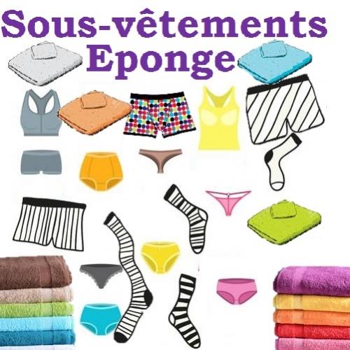 Sous-vêtement - Éponge