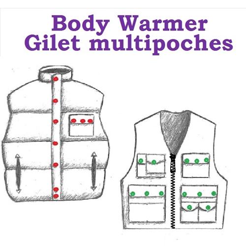 Bodywarmer - Gilet multipoche